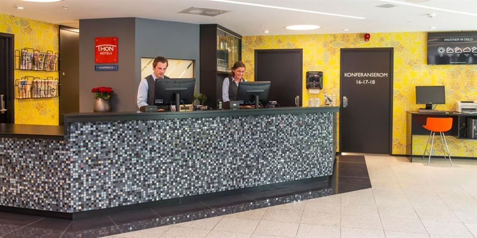 Thon Hotel Vika Atrium Reception