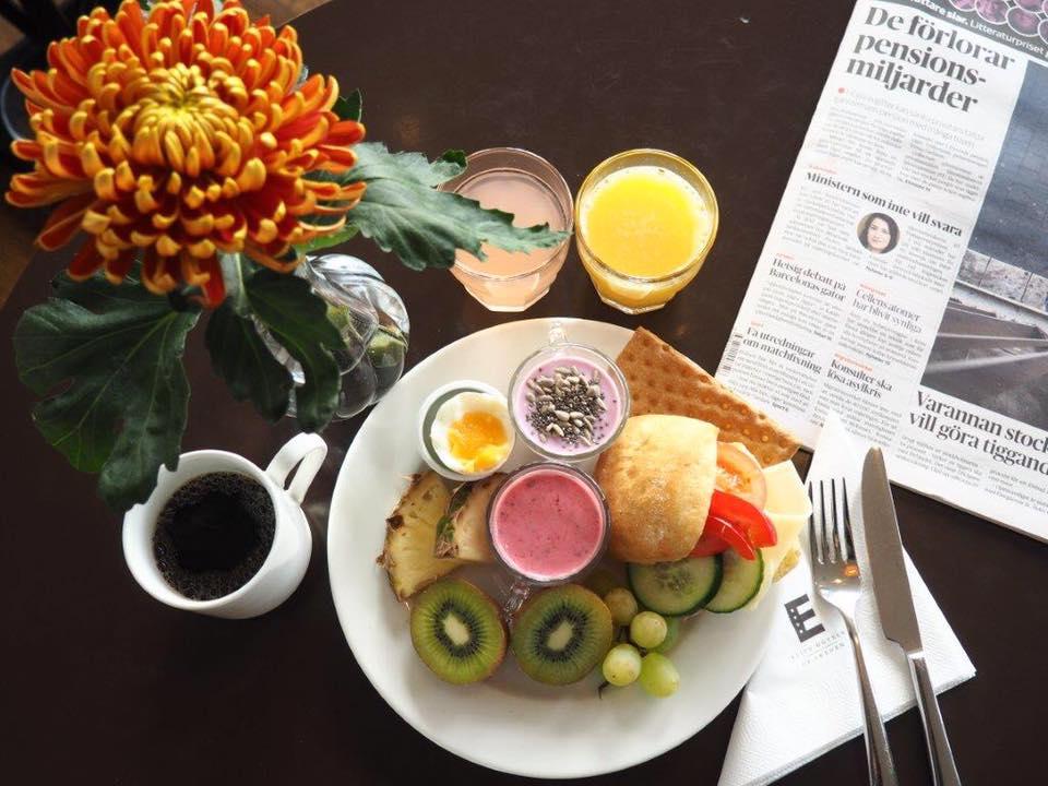 Elite Grand Hotel Gävle Frukost