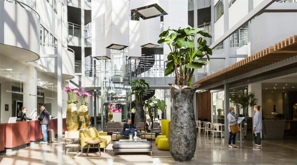 Quality Hotel Edvard Grieg Lobby