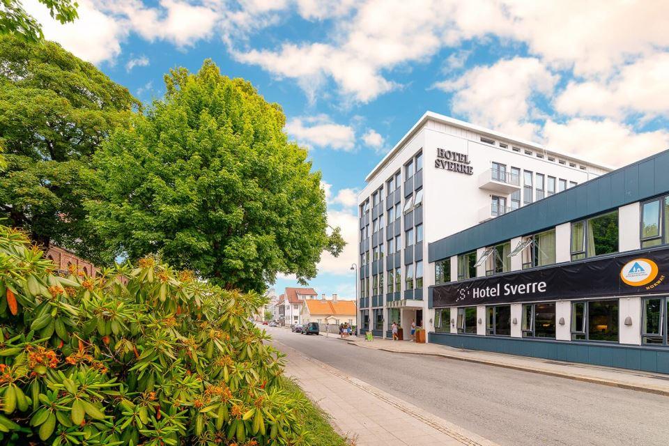 Hotel Sverre Fasad