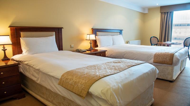 Brandon Hotel Tralee Twin Bedroom