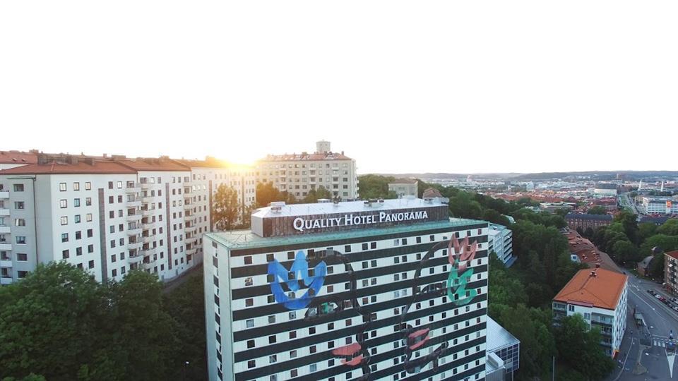 Quality Hotel Panorama Göteborg Fasad