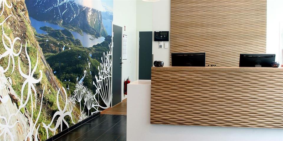 Thon Hotel Tromsø Reception