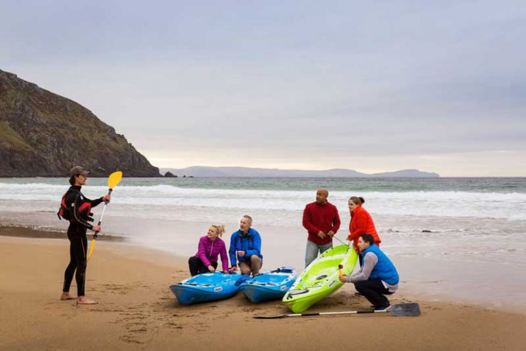 Dingle Marina Cottages kayak