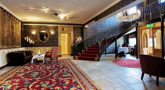 Fitzpatrick Castle Hotel Lobby