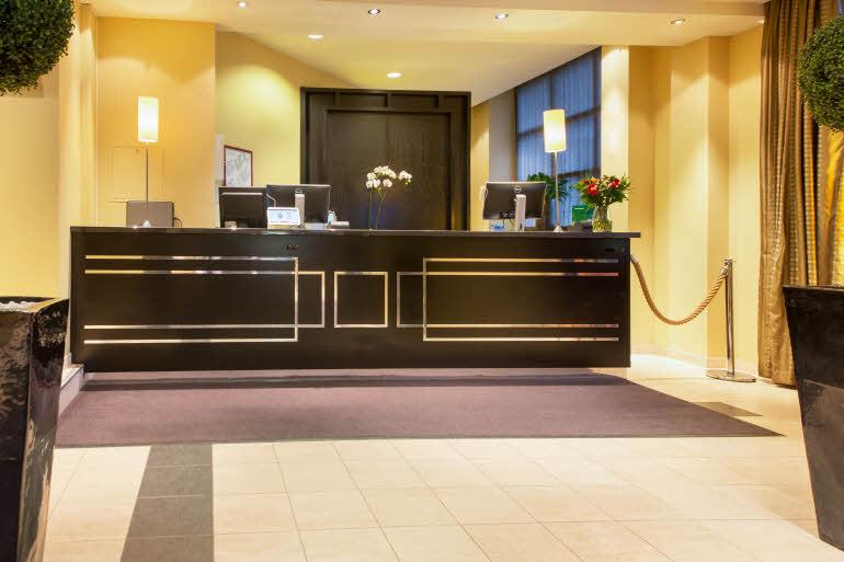 Scandic Holberg Hotel Reception
