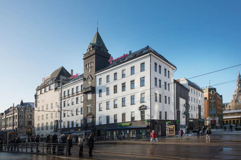 Scandic Oslo City Fasad