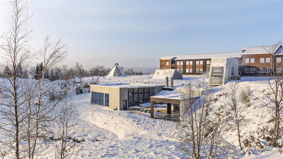 Røros Hotell Vinter