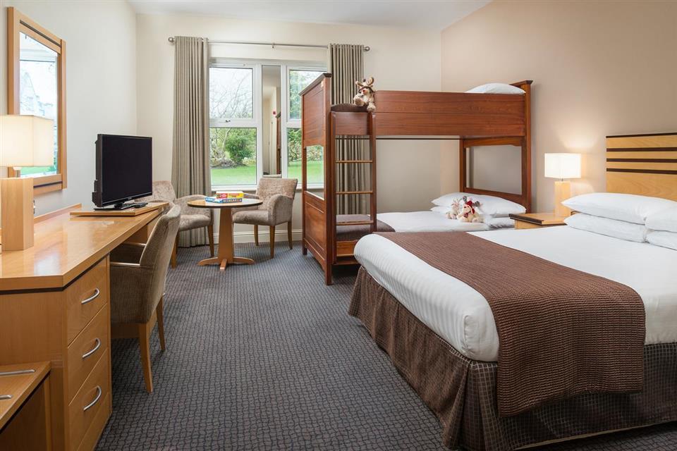 Breaffy House Hotel Bedroom