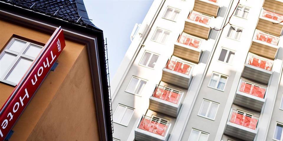 Thon Hotel Panorama Fasad