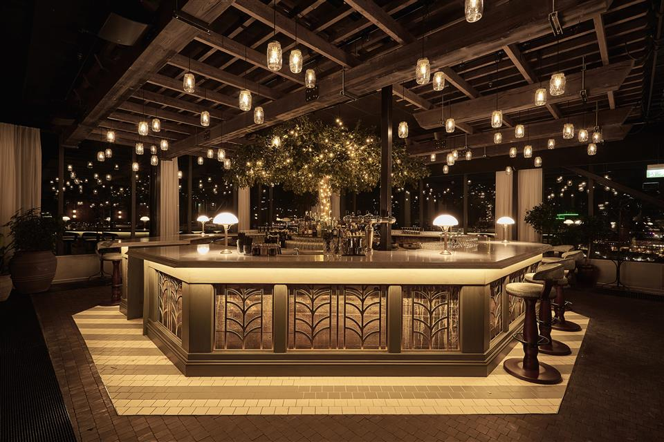 The Steam Hotel Skybar