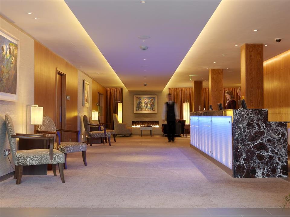 Aghadoe Heights Hotel Reception