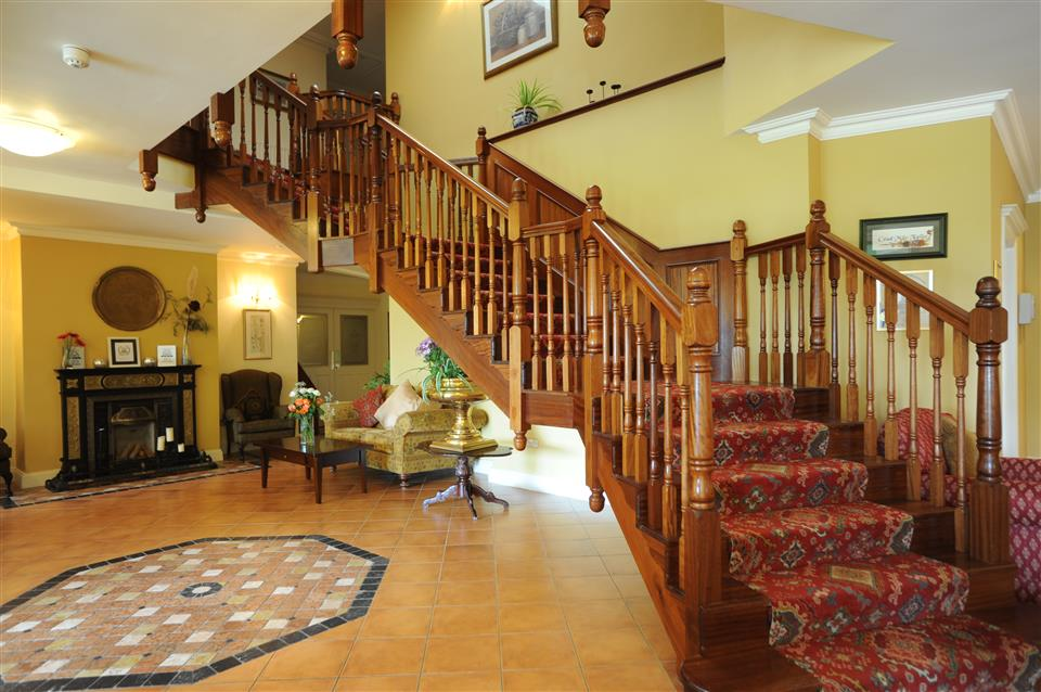 Loch Lein Country House staircase