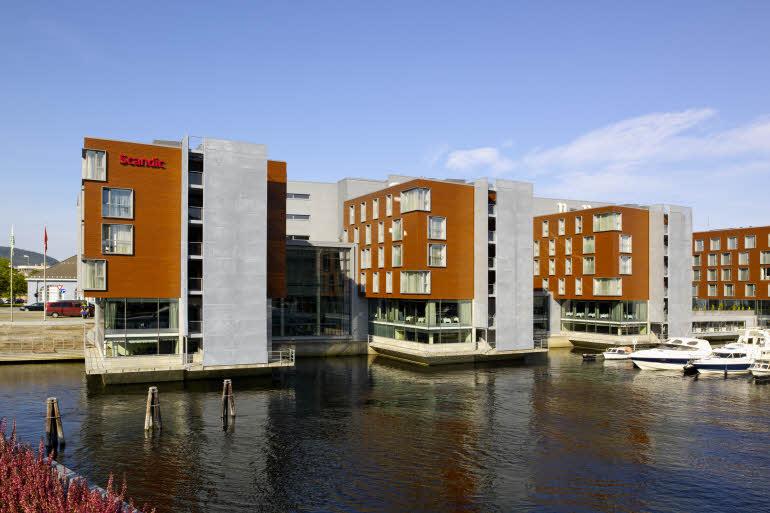 Scandic Hotel Nidelven Fasad