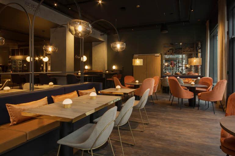 Scandic Helsfyr Sittområde restaurang