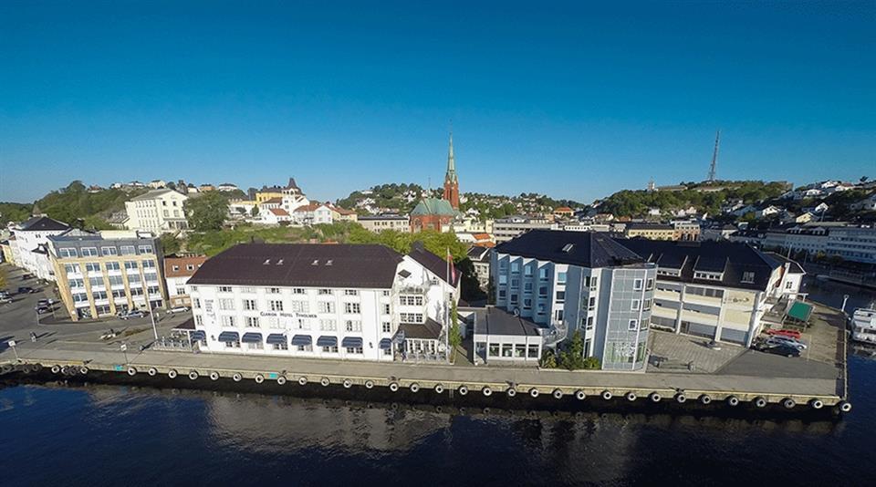 Clarion Hotel Tyholmen Fasad