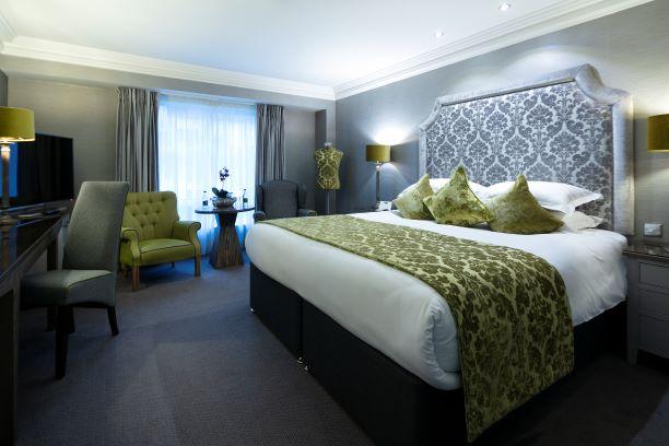 Brooks Hotel bedroom