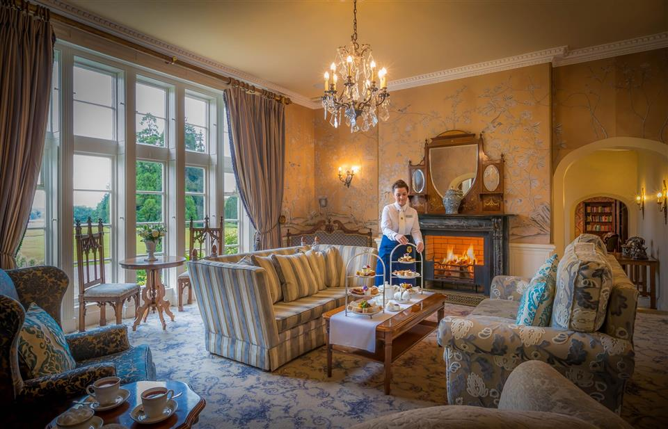Lough Rynn Castle Estate Lobby