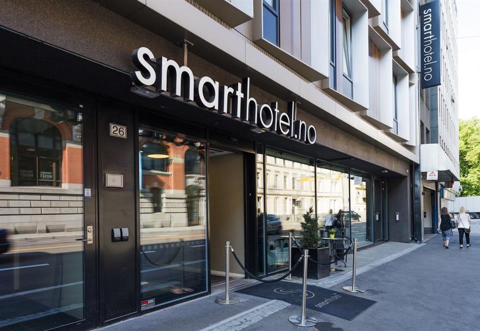 Smarthotel Oslo Fasad