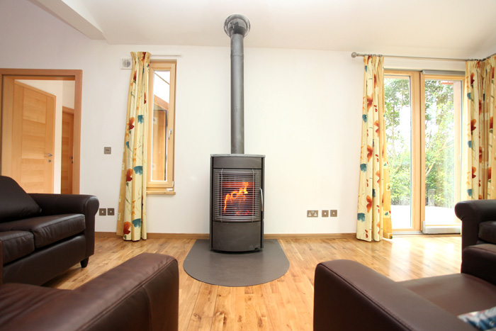 Ballyhoura Forest Luxury Homes Stove