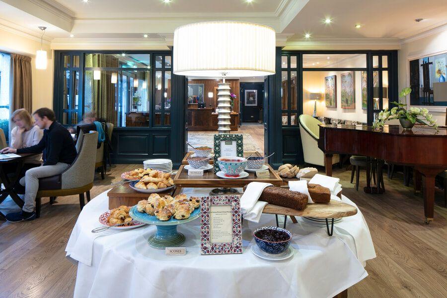 brooks hotel afternoon tea