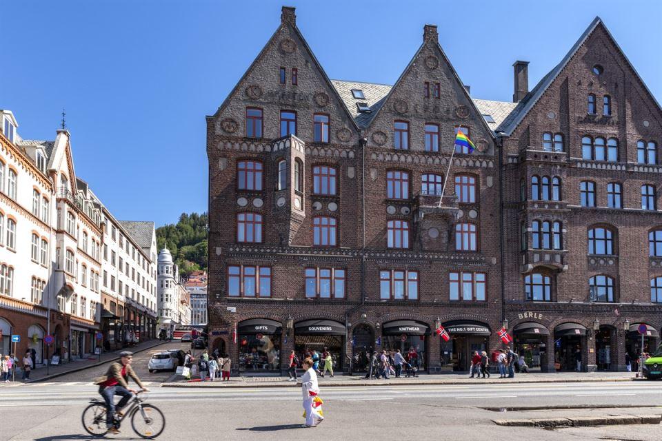 Clarion Hotel Bergen Fasad