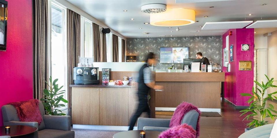 Thon Hotel Backlund Reception