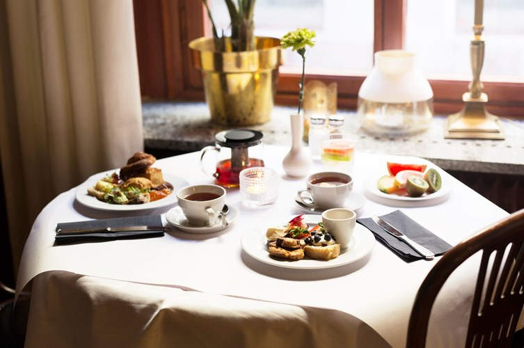 Elite Hotel Knaust Frukost