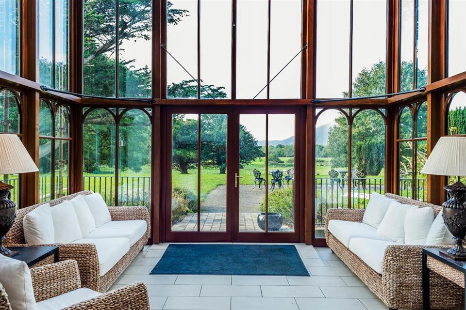 The Cahernane House Hotel Terrace