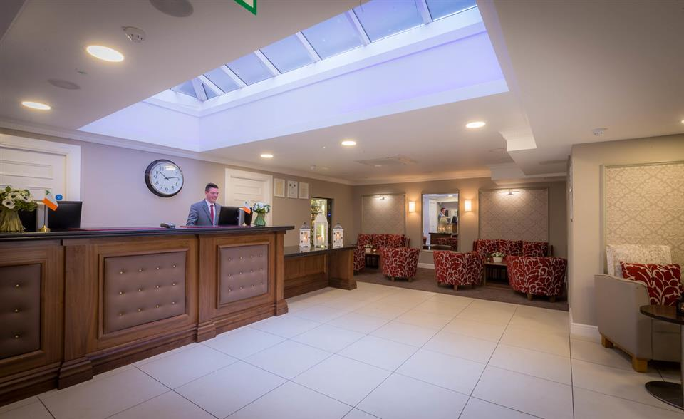 The Belvedere Hotel Reception