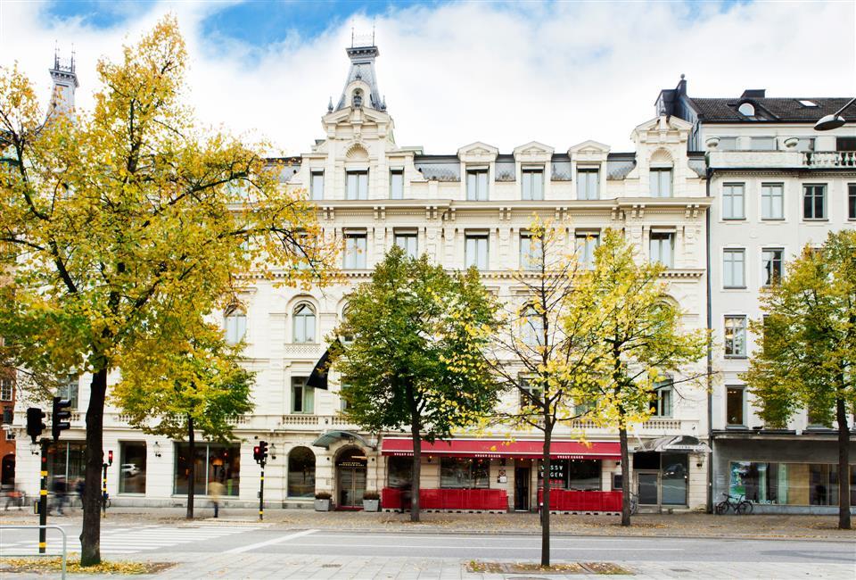 Elite Hotel Stockholm Plaza Fasad