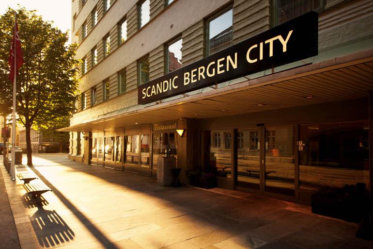 Scandic Bergen City Fasad