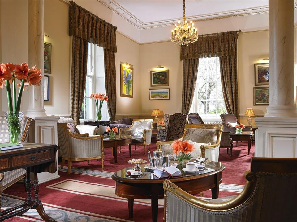 Glenlo Abbey Hotel lounge