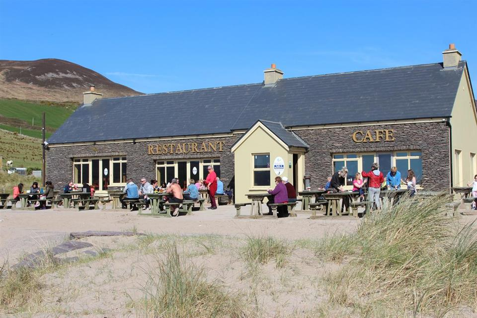 Inch Beach Cottages beach cafe