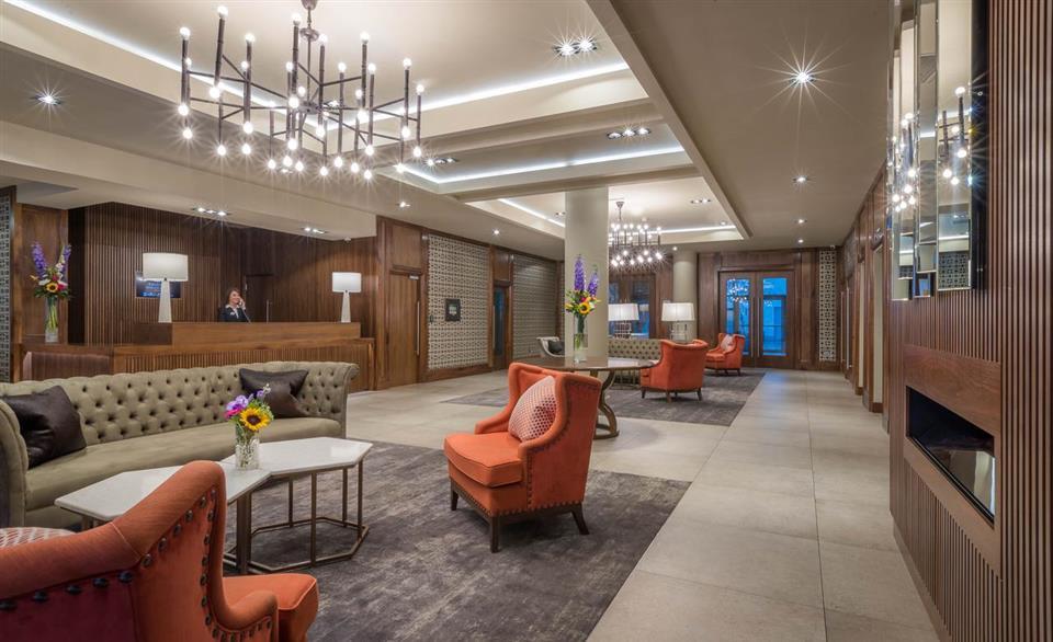 The Killeshin Hotel Lobby