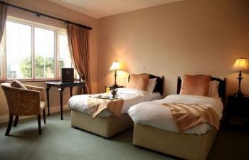 Springfort Hall Twin Bedroom