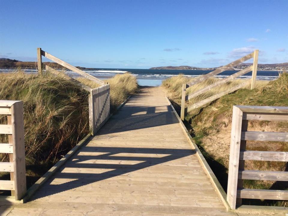 Donegal Boardwalk Resort boardwalk