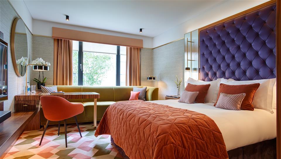The Fitzwilliam Hotel Bedroom