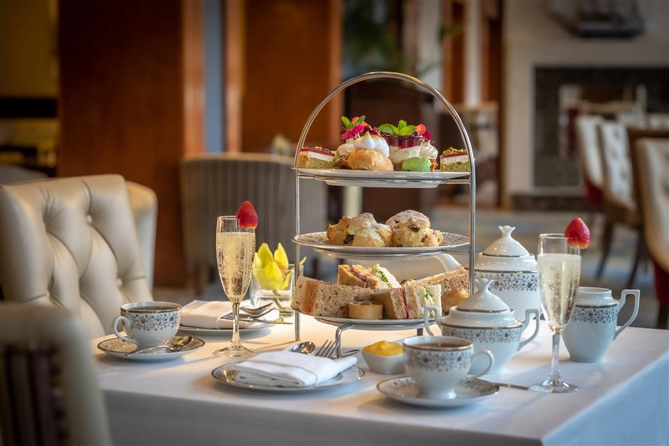 The Kingsley hotel afternoon tea