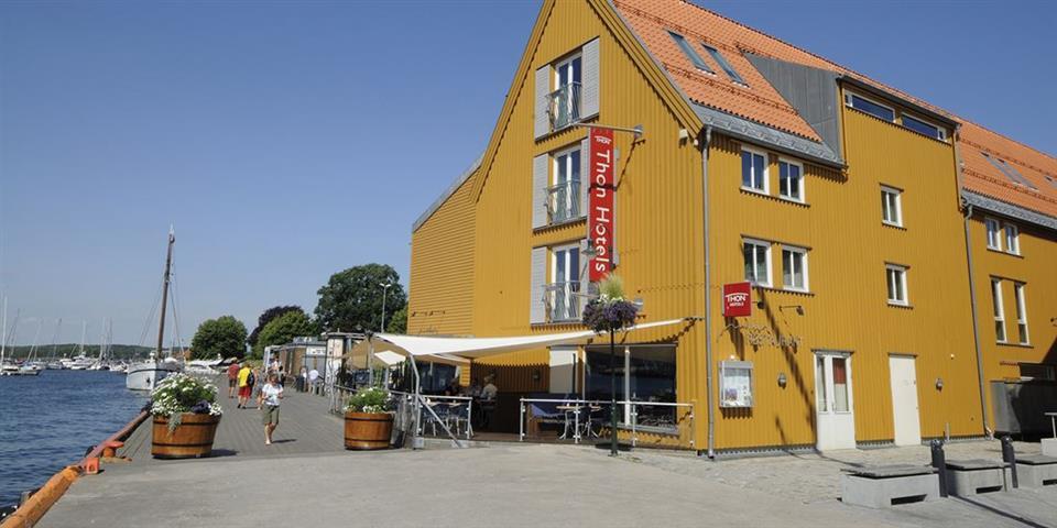 Thon Hotel Tønsberg Brygge Fasad