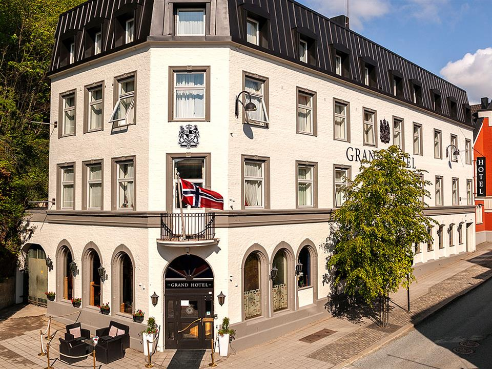 Grand Hotel Arendal Fasad