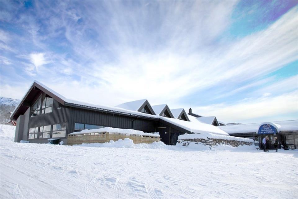 Sirdal Høyfjellshotell Fasad