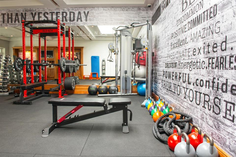 Ballygarry  House Hotel gym