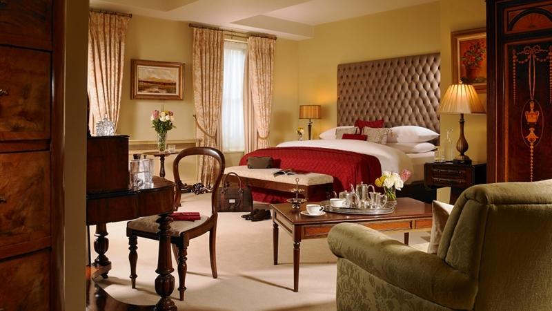 Knockranny House Hotel Bedroom
