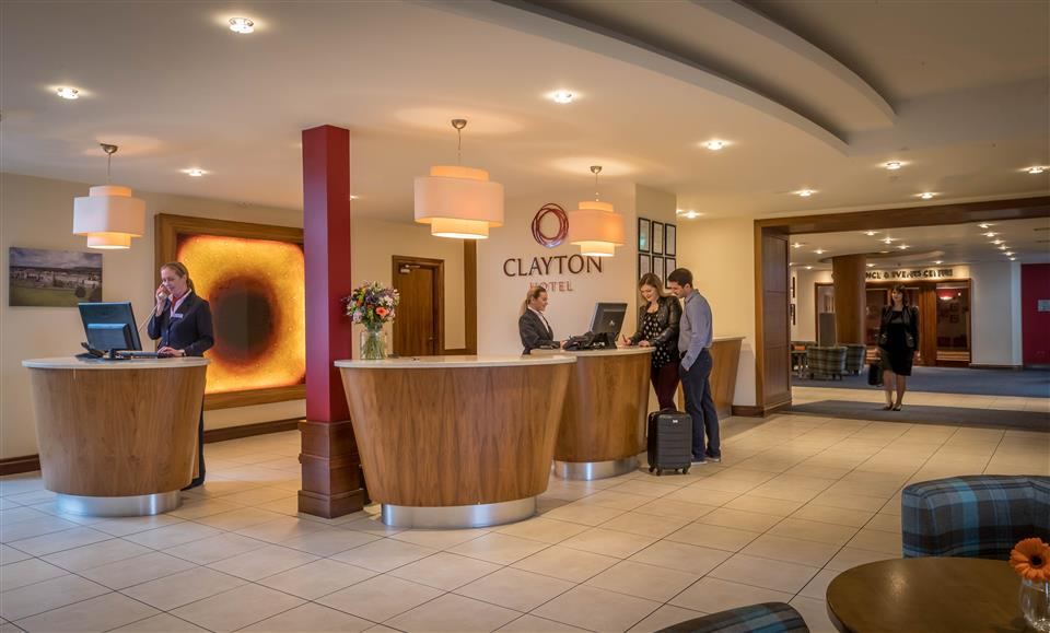 Clayton Hotel Sligo Reception