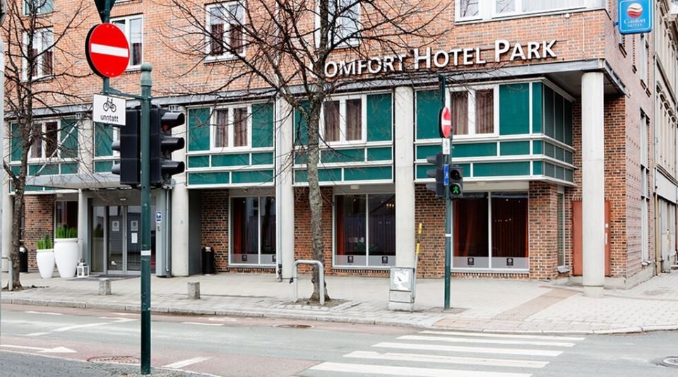 Comfort Hotel Park Fasad