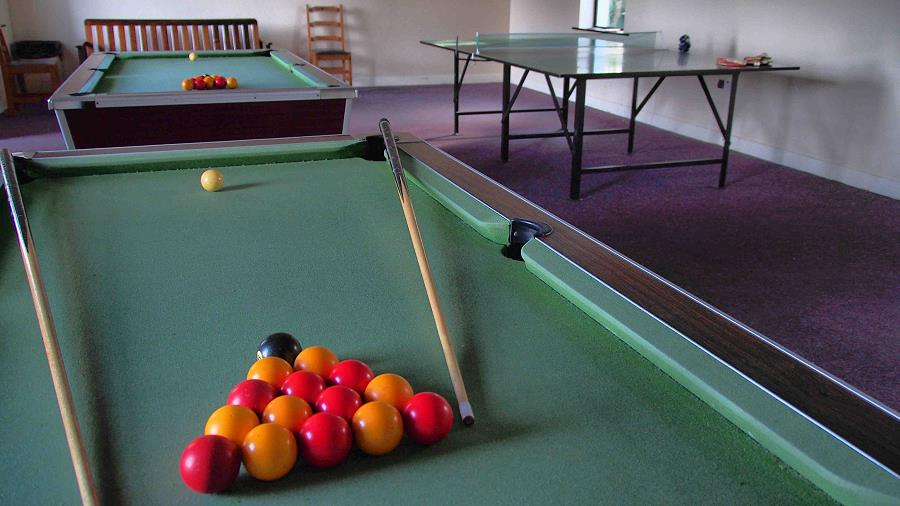 Quilty Holiday Cottages Games Room