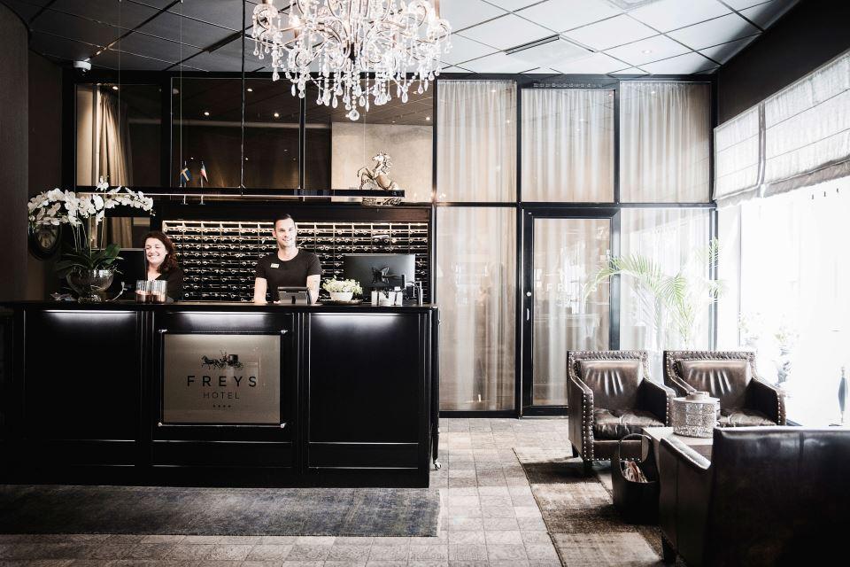 Freys Hotel Reception