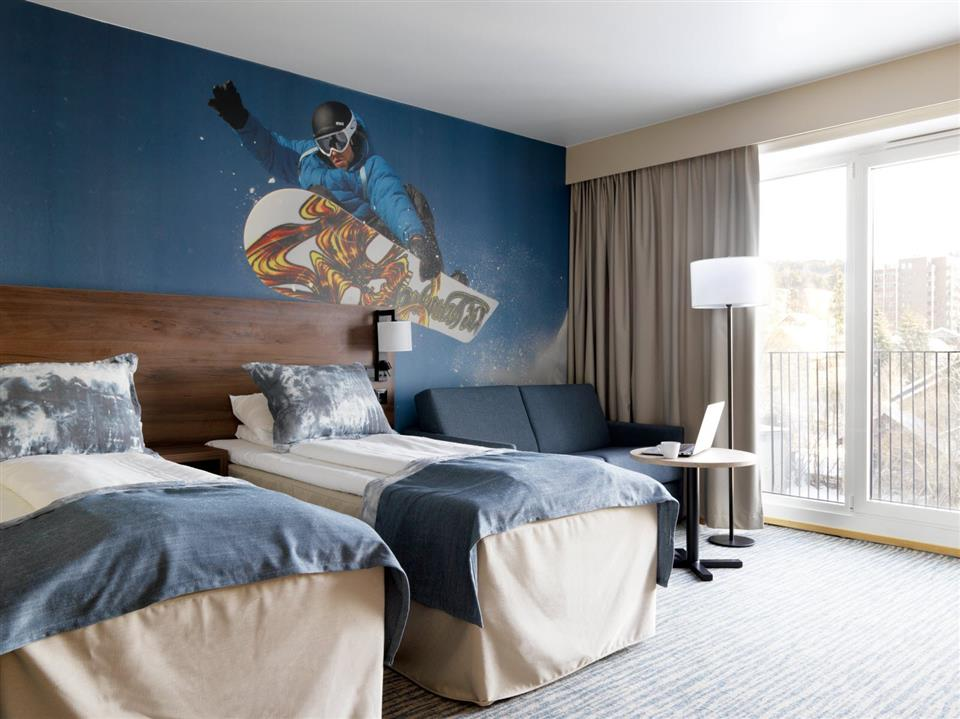 Scandic Lillehammer Hotel Twin Room