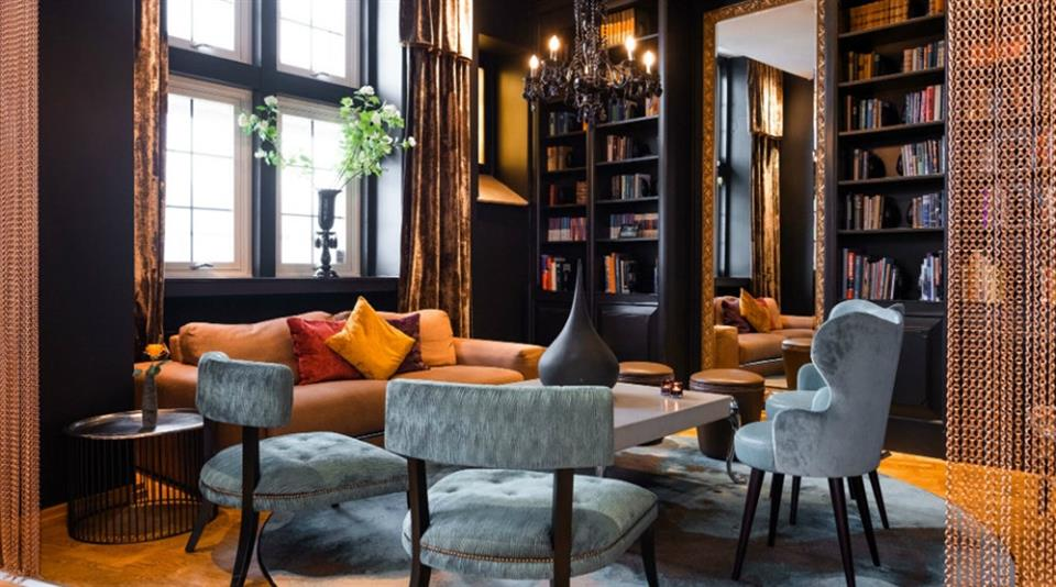 Clarion Collection Hotel Havnekontoret Bibliotek